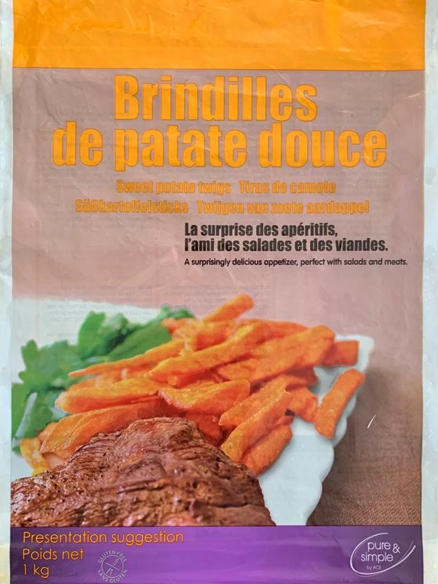 packaging brindilles patate douce